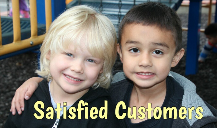 Preschool Satisfied Customers