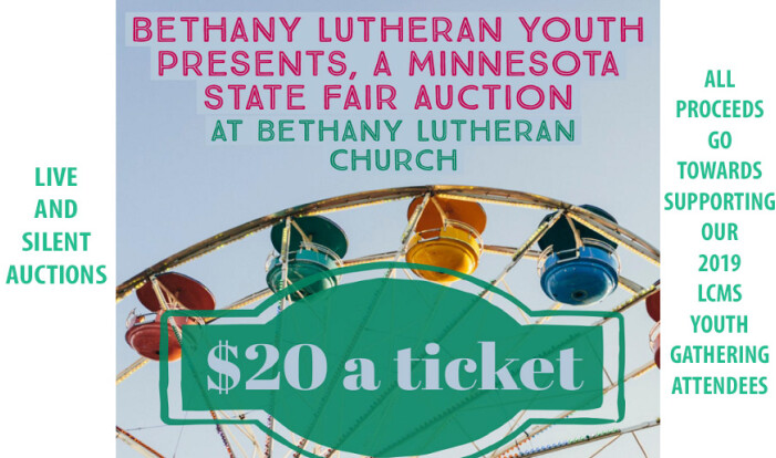2019 LCMS Youth Gathering Auction